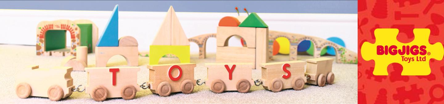 NEW IN STORE & ONLINE BIGJIGS TOYS
