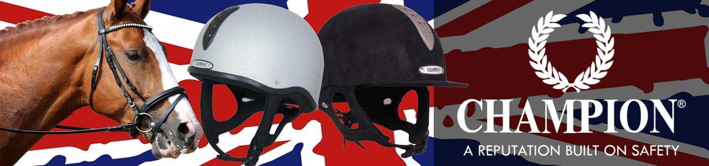 new to our equine range. Junior riding helmets from champion
