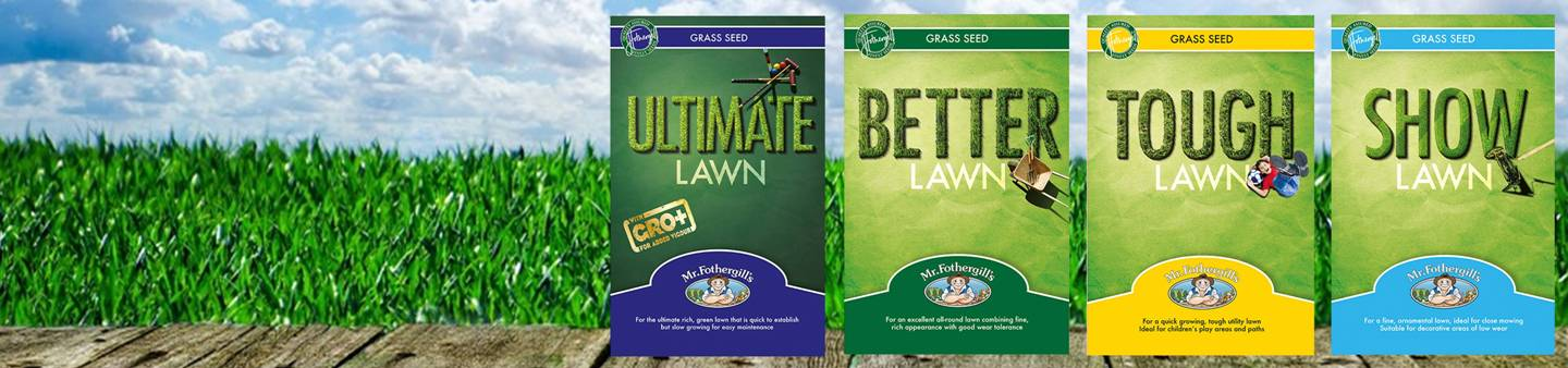 LAWN SEED BLENDS TO SUIT ANY GARDEN