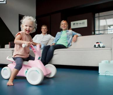 THE NEW BERG GO2 GO-KART FOR TODDLERS