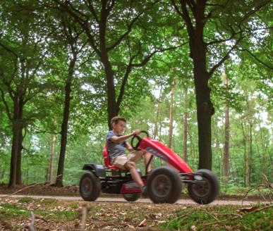 Berg pedal go-karts suitable for all ages. Perfect for outdoor adventures.