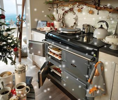 We stock a great range of AGA cookware and accessories. Everything you need to help you cook up that Christmas feast.