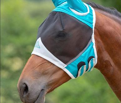 protect your horse or pony with one of our fly masks from Shires