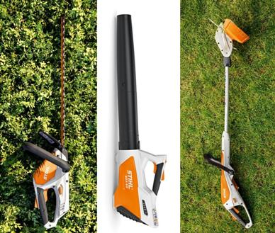 Stihl cordless garden tools from only £99