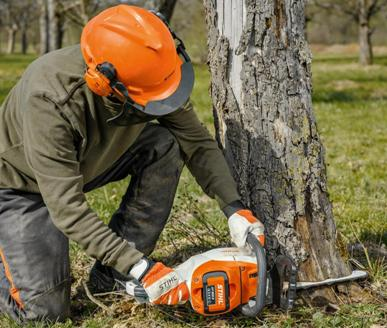 We stock a great range of Stihl battery powered tools for all sizes of gardens, including chainsaws, strimmers, hedgetrimmers and even lawn mowers.
