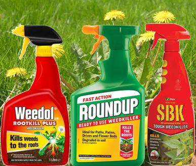 Keep those annoying weeds under control with our great range of weedkillers from Weedol, Roundup and SBK.