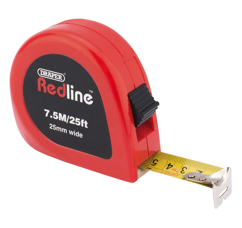 Redline Tape Measure 7.5m