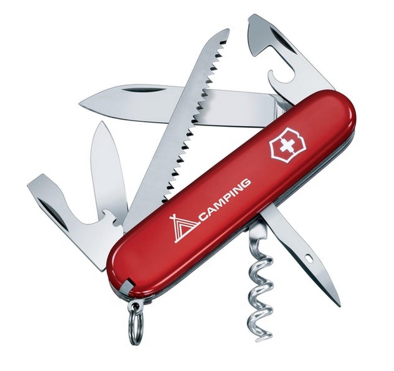 Camper Knife - Red