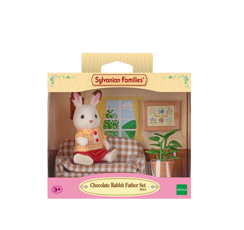 Chocolate Rabbit Father Set