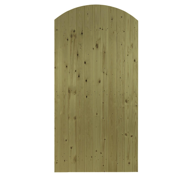 Priory Curve Gate 0.9 x 1.83m