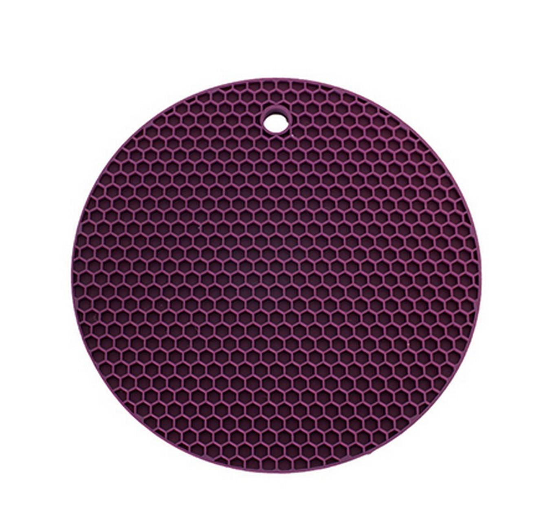 Potholder - Round Purple