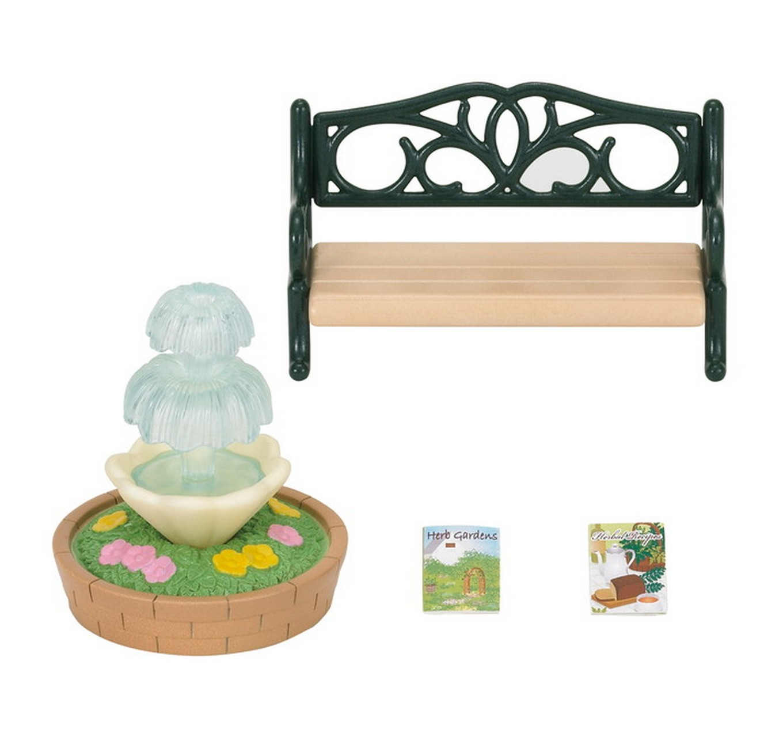 Bench & Fountain Set