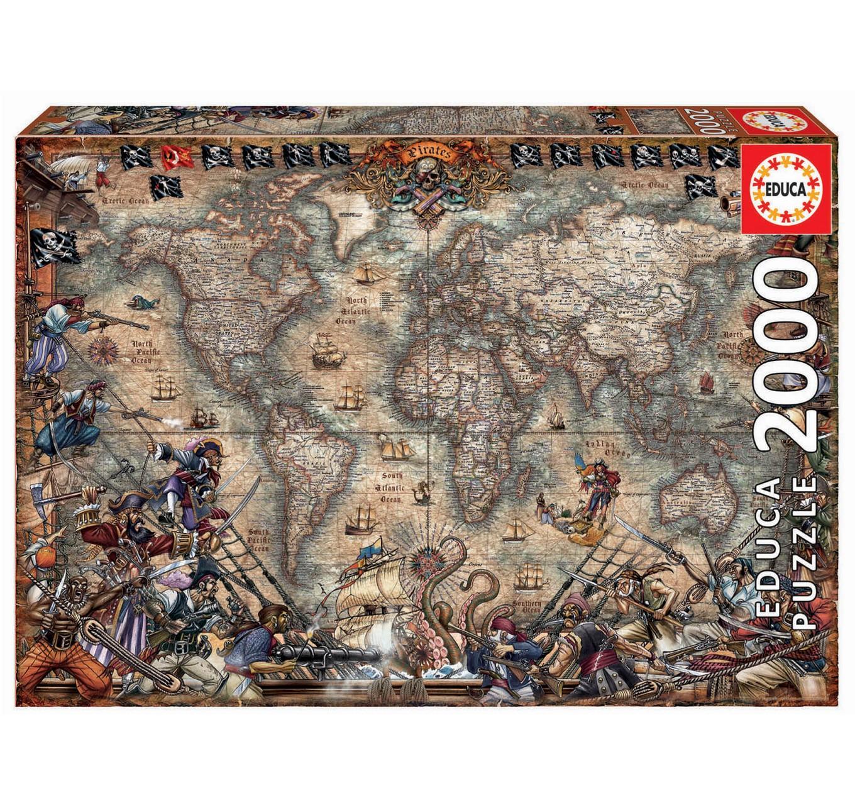 Pirates Map 2000pc