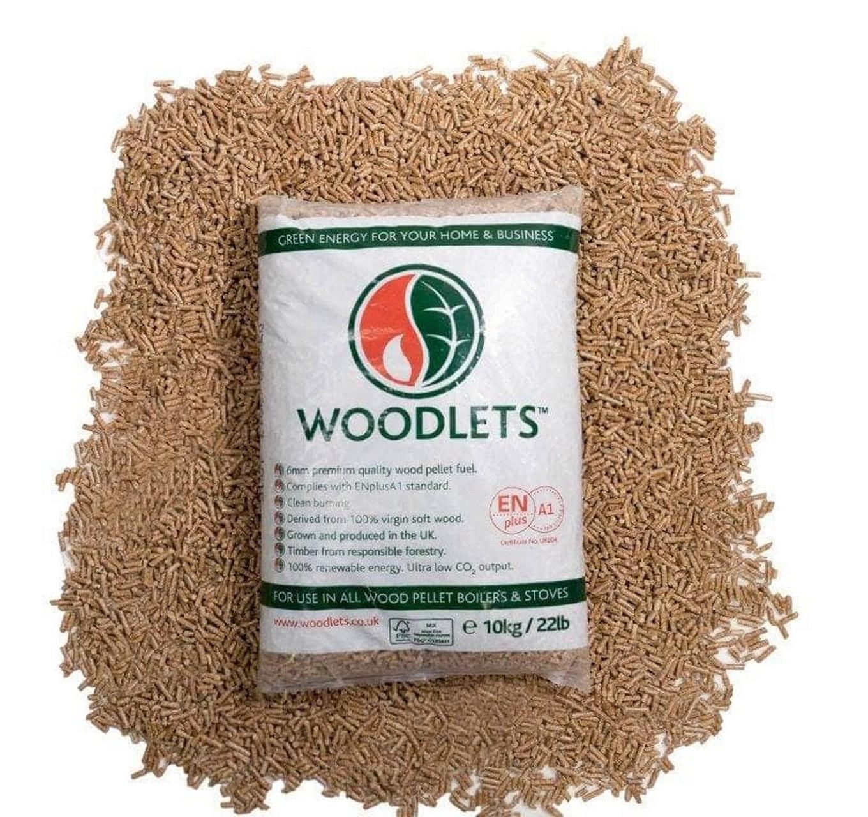 Woodlets Heating Pellets 10kg