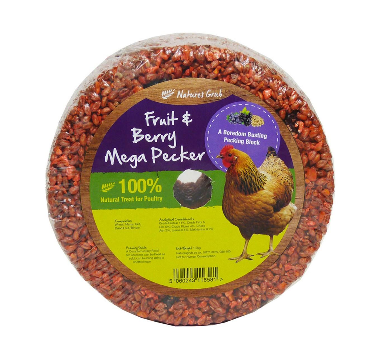 Mega Pecker with Fruit 1.2kg