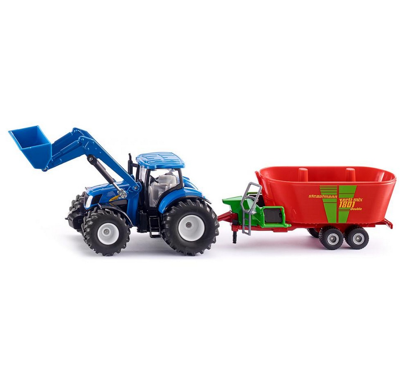 New Holland with Fodder Mixer