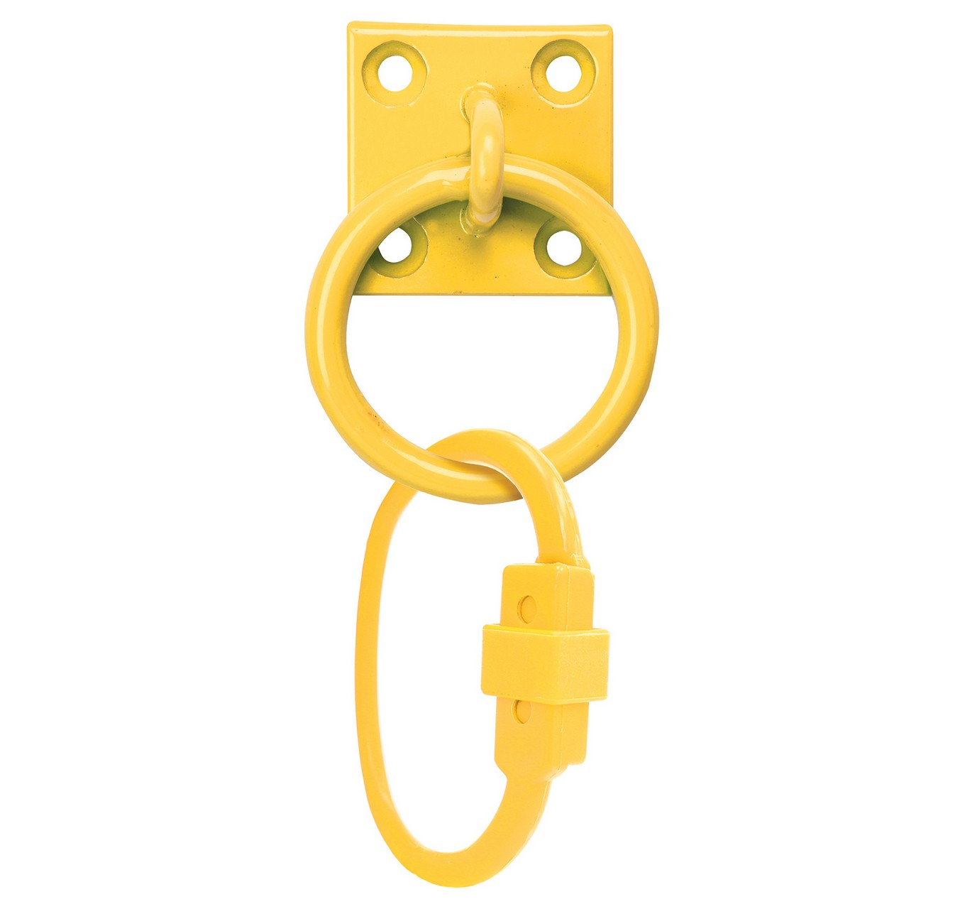 SafeTie with Tie Ring Yellow