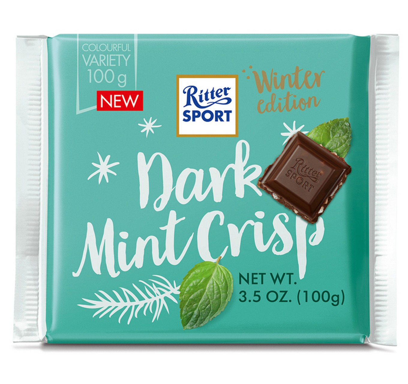 Dark Mint Crisp Bar 100g