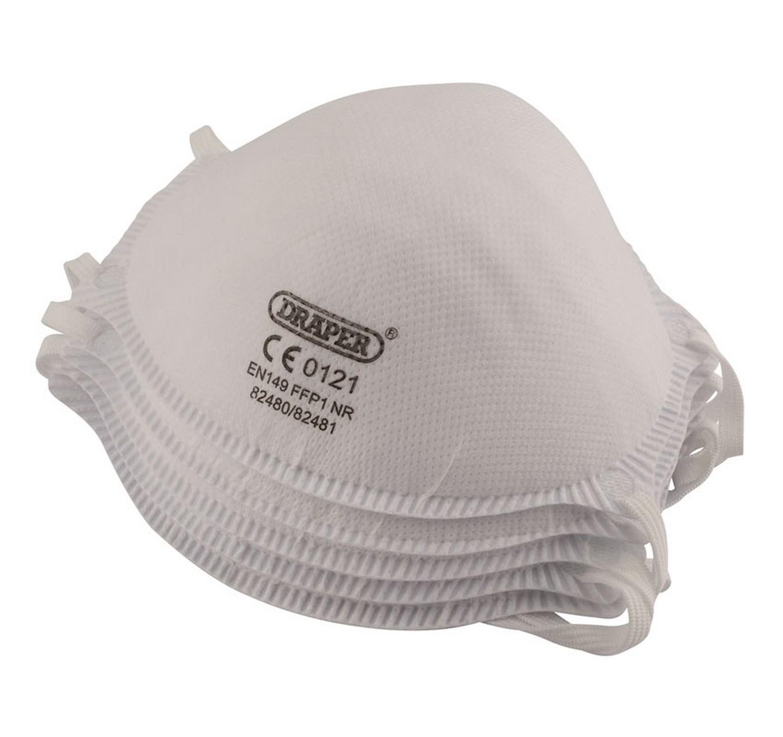 Moulded Dust Masks FFP1 NR 5pk