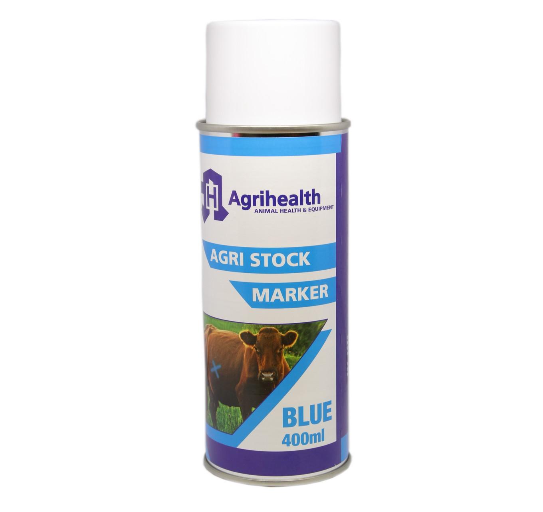 Stock Marker Spray Blue 400ml