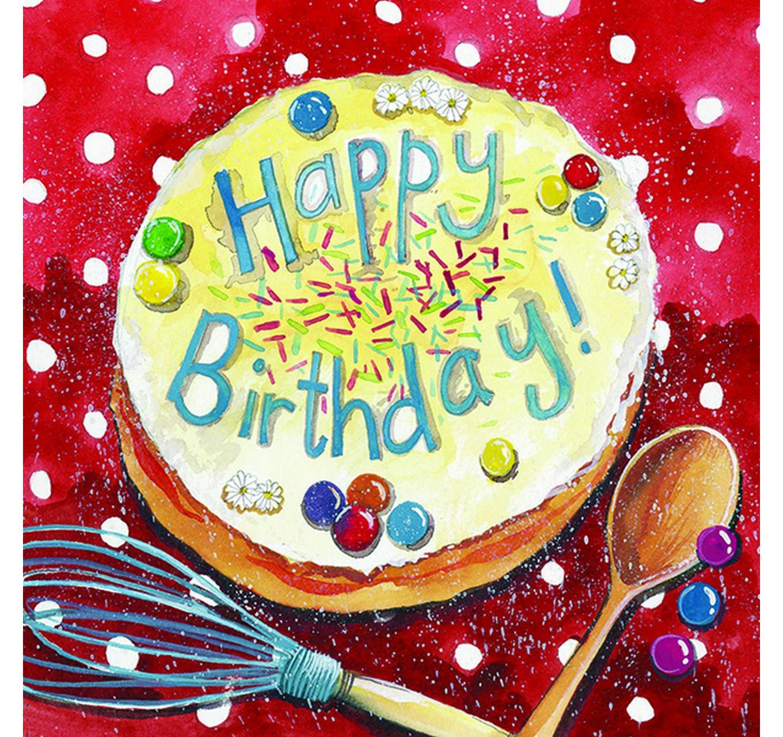 Bake Me A Cake Birthday Card