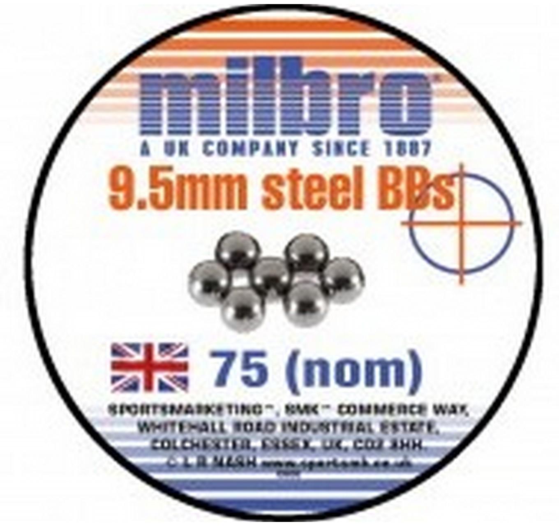 Steel Ammo 9.5mm 75pk