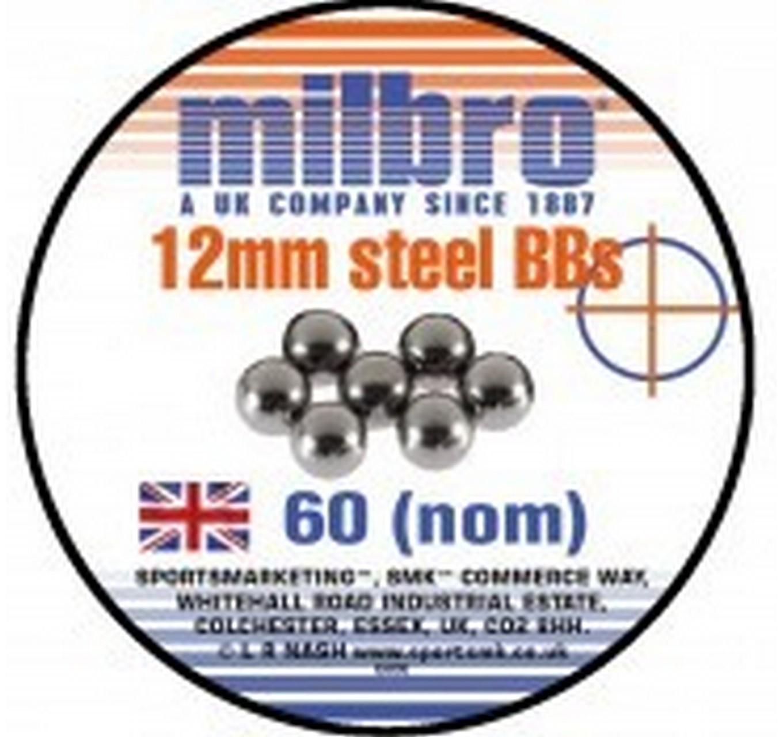 Steel Ammo 12mm 60pk