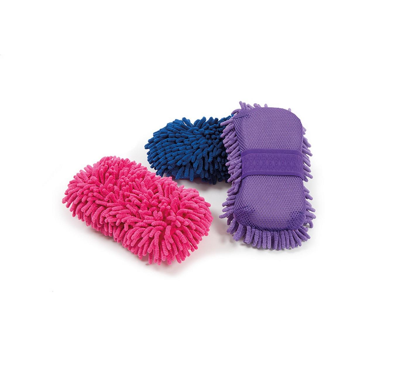 Microfibre Groom Sponge Pink