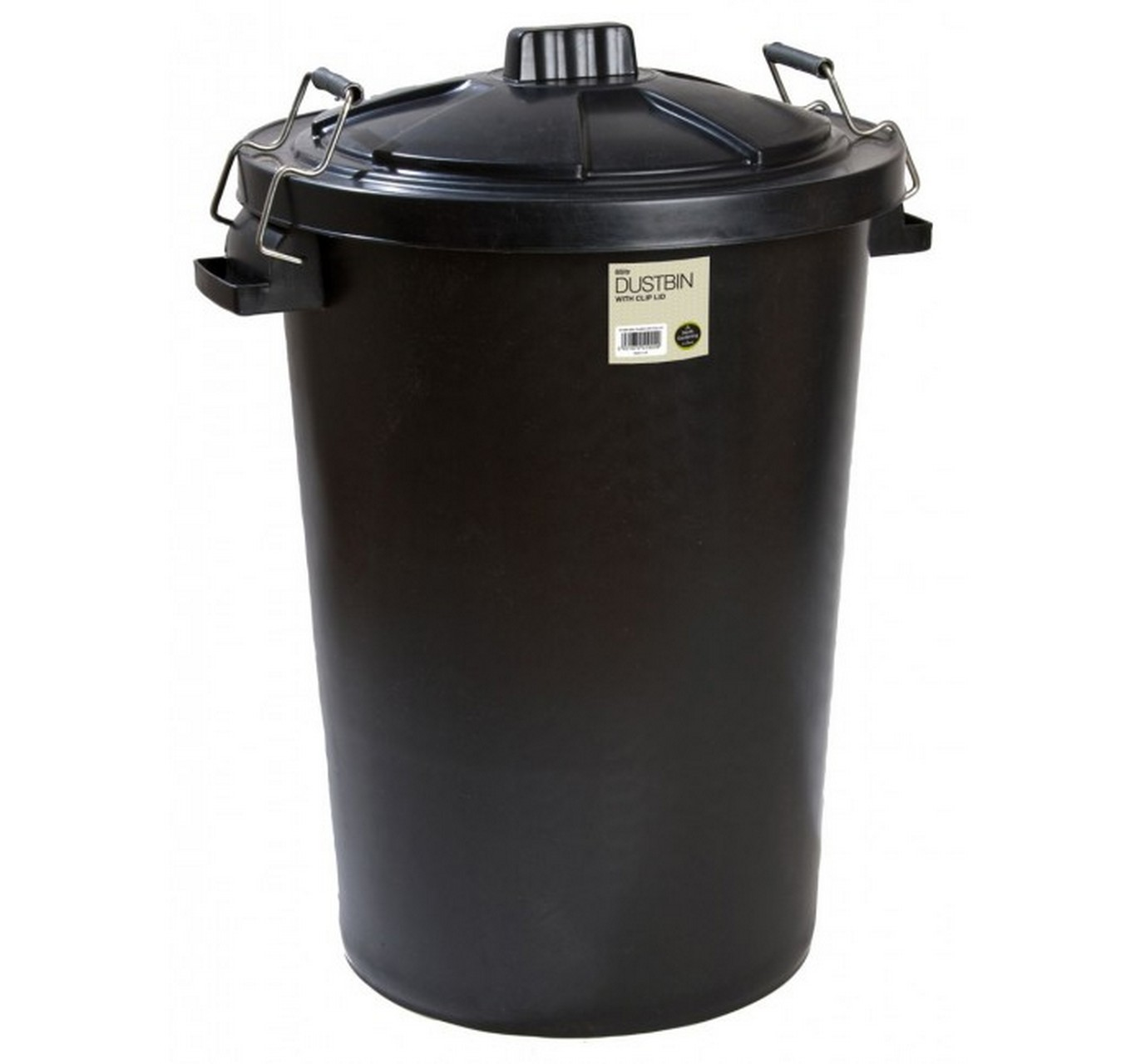 Dustbin with Clip Lid 85L