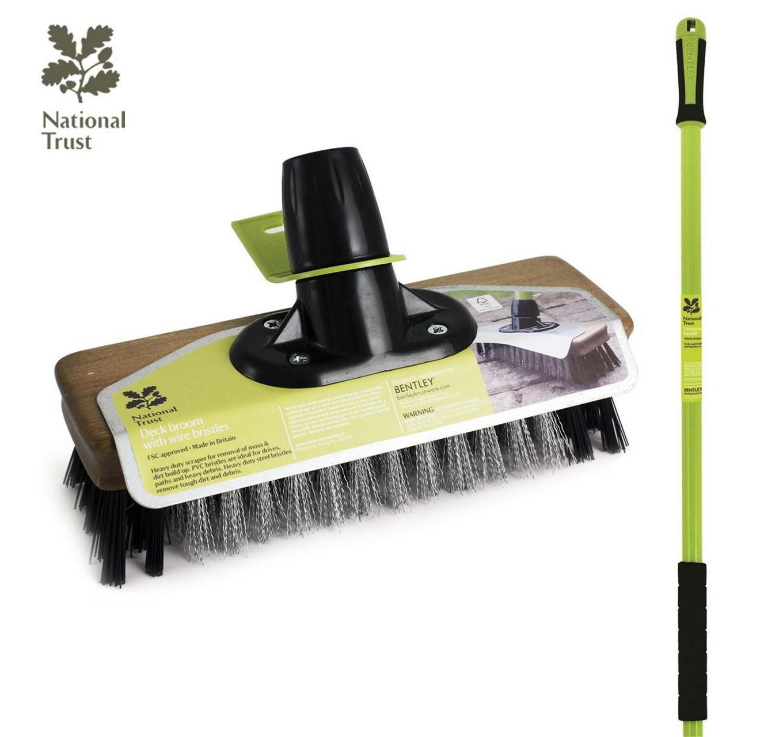 NT PVC & Wire Deck Broom 9