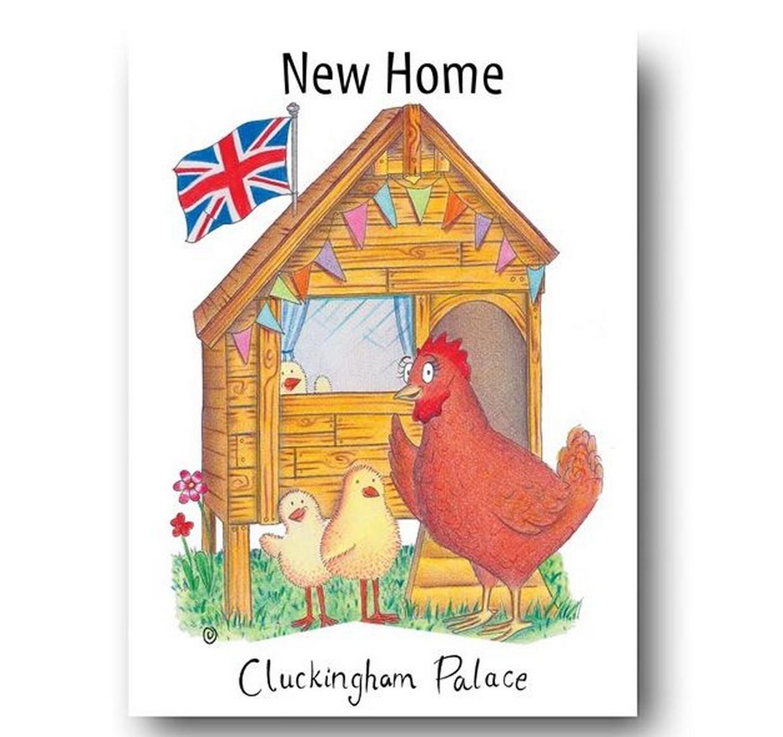 Cluckingham Palace - Card