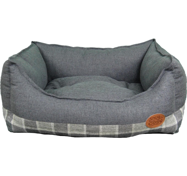Grey Checker Bed 42