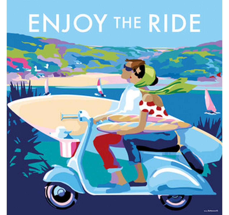 Enjoy The Ride - Card