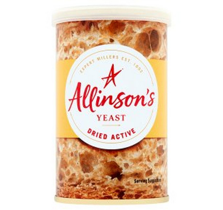 Allinson's Dried Yeast 125g