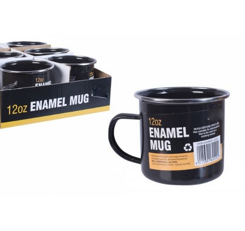 Enamel Camping Mug 9cm - Each