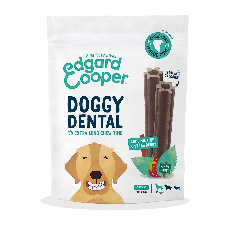 Doggy Dental Strawberry 7pk L