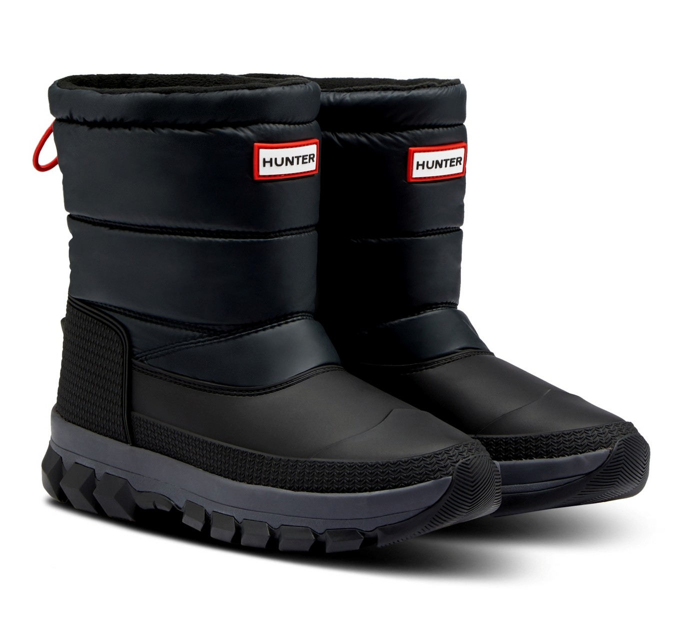 Insulated Snow Boot Black 8