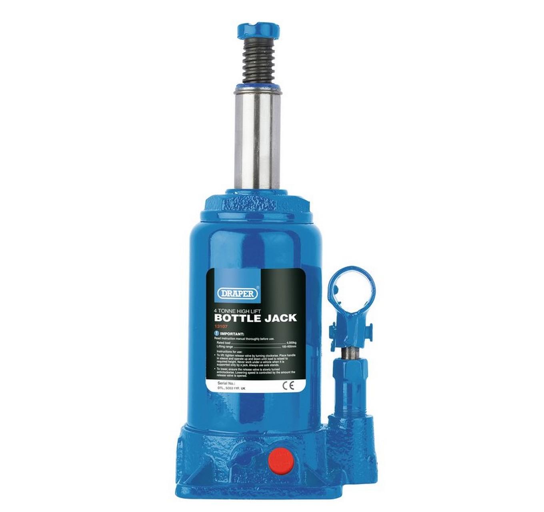 High Lift Bottle Jack 4 Tonne