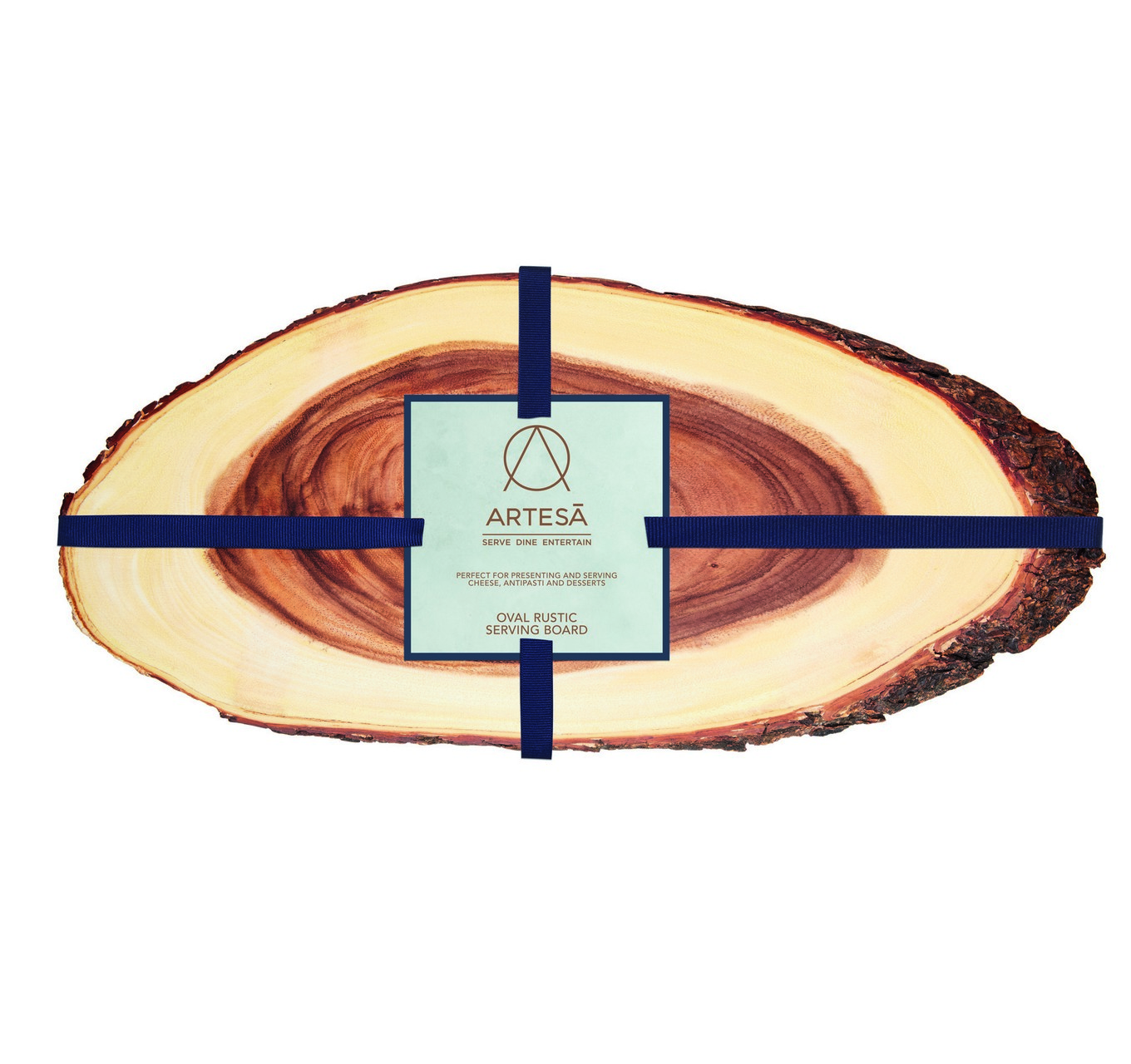 Rustic Oval Serving Board 55cm