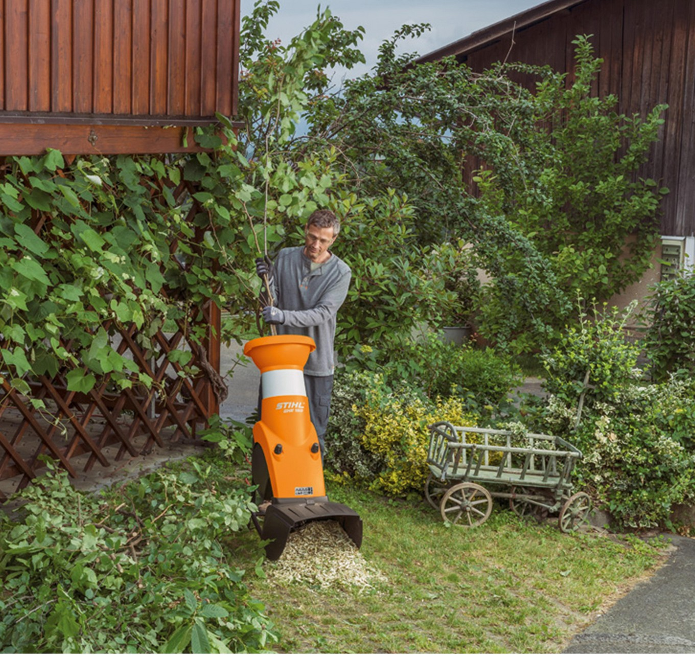 GHE 150 Garden Shredder