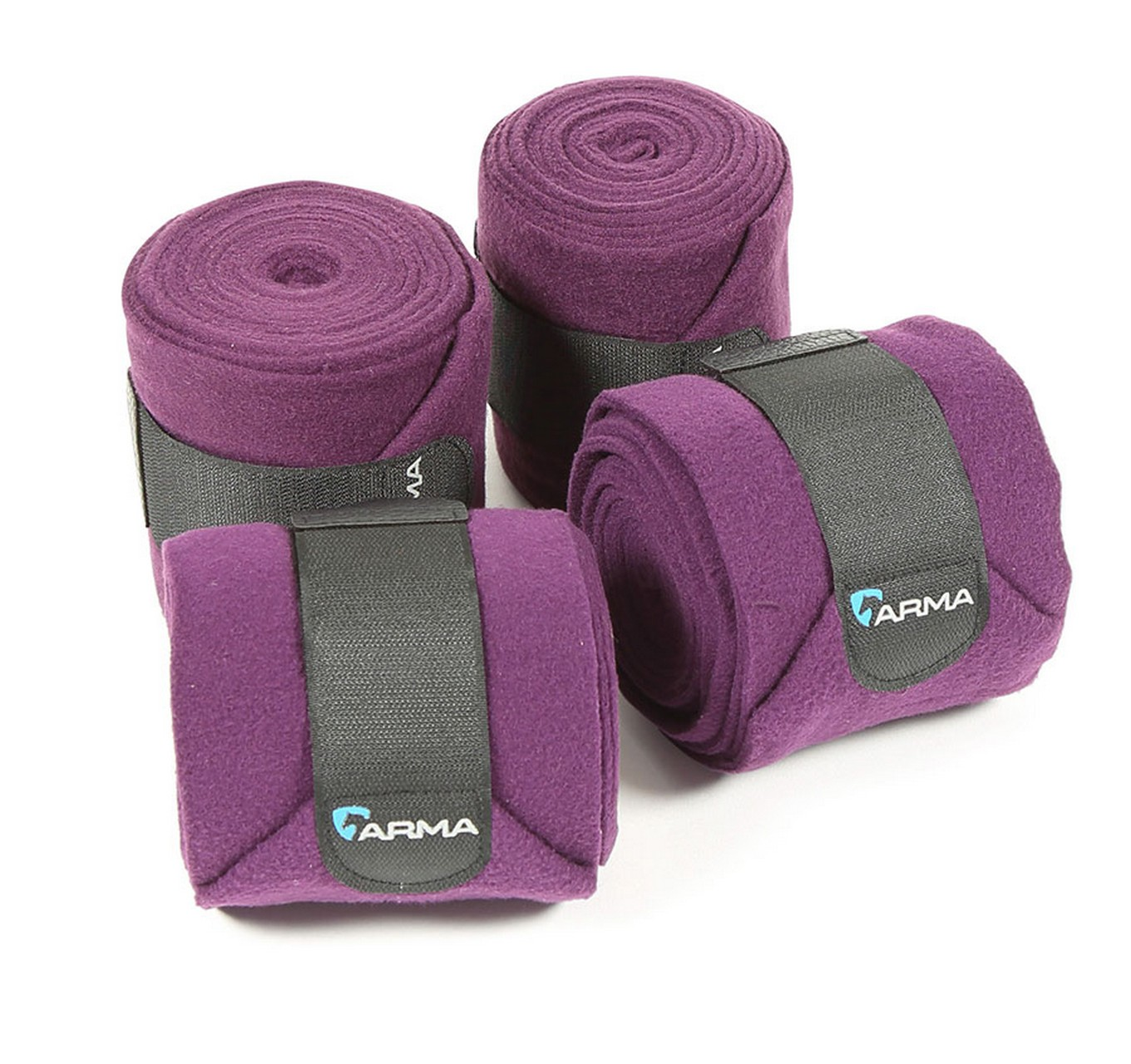 Fleece Bandages 4pk Plum