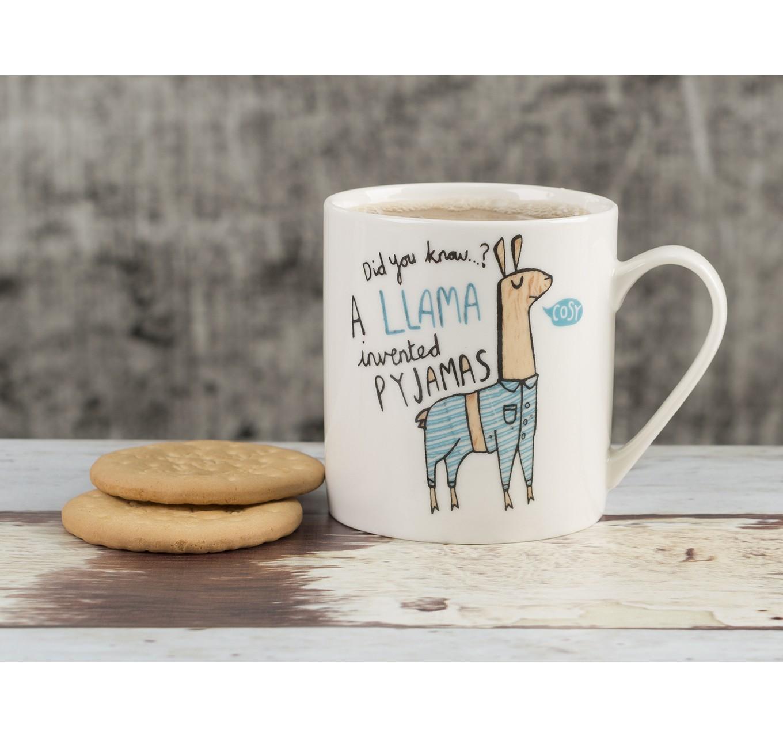 Everyday Home Llama Can Mug