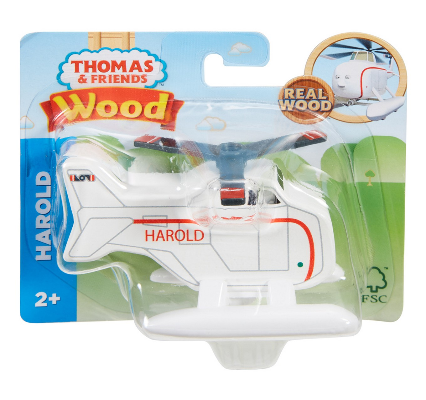 Harold Wooden Helicopter