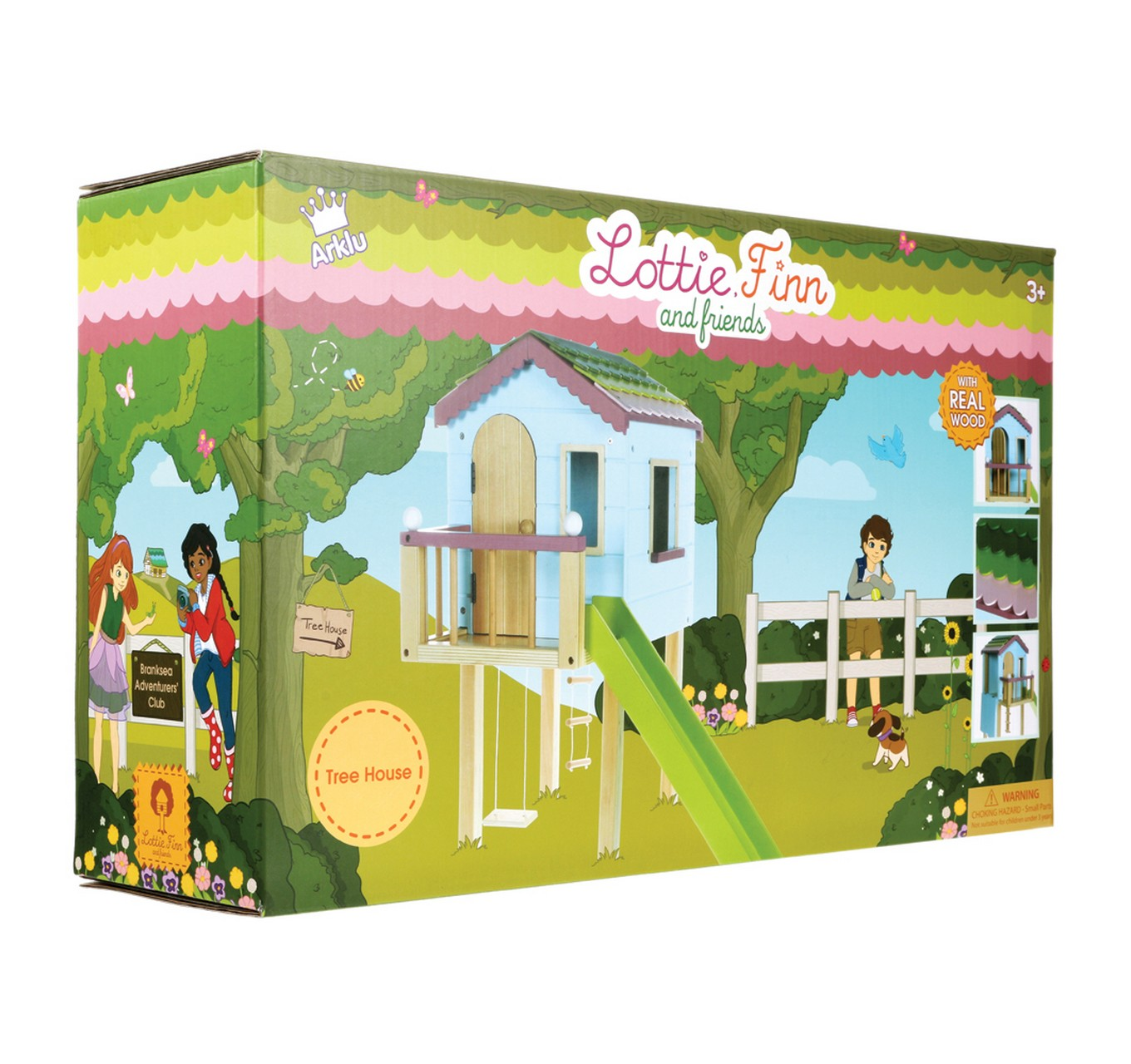Treehouse Wooden Playset
