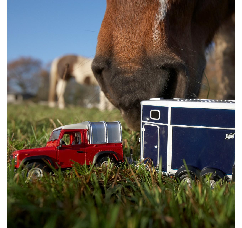 Land Rover & Horse Box Set