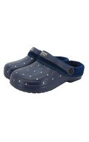 Navy Star Fleecy Cloggies