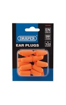 Ear Plugs 10 Pair Pack