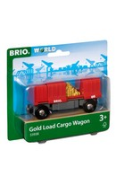 Cargo Wagon with Gold Load