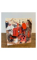 Big Red Tractor Gift Bag (M)