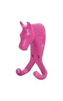 Horse Head Double Hook Pink